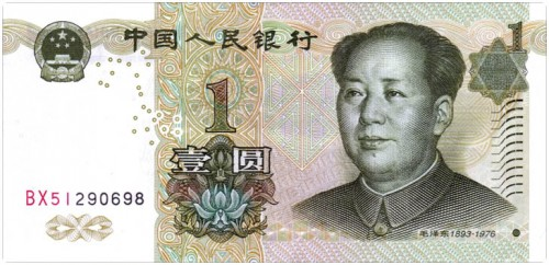 China - Currency Yuan