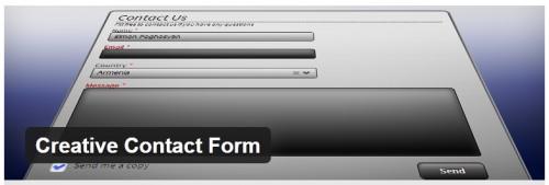 Creative Contact Form