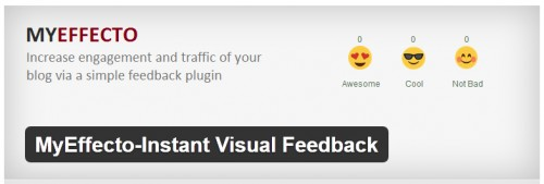 MyEffecto Instant Visual Feedback