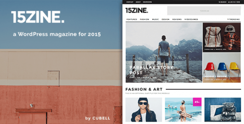15Zine - HD Magazine, Newspaper WordPress Theme
