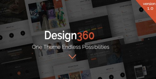Design 360 - One & Multi Purpose WordPress Theme