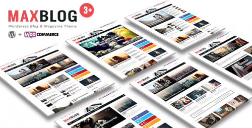 MaxBlog - Flat News Magazine Blog WP Theme