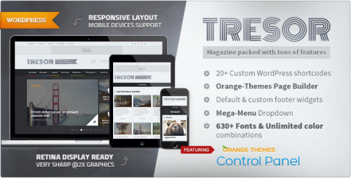 Tresor - Multipurpose News & Magazine Theme