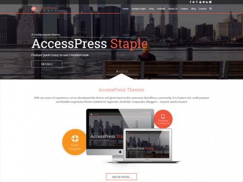 AccessPress Staple