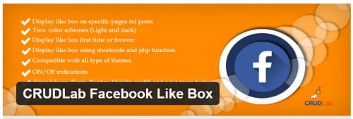CRUDLab Facebook Like Box