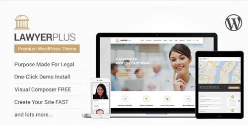 LawyerPlus - Legal Office WordPress Theme