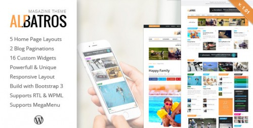 Albatros - WordPress Magazine Theme
