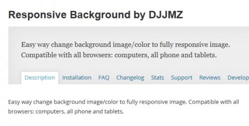 Responsive Background by DJJMZ