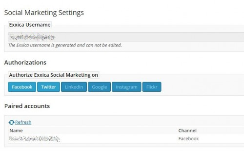 Social Marketing Scheduler