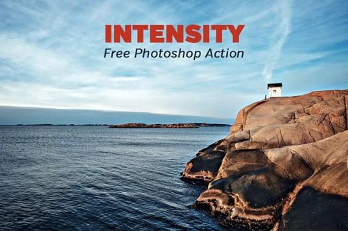Amazing Free Intensity Photoshop Action