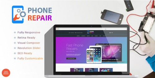 PhoneRepair - Mobile, Tablet, Phone WP Theme