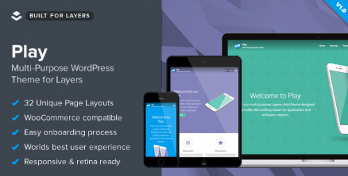 Play - Responsive Multi-Purpose Layers Theme
