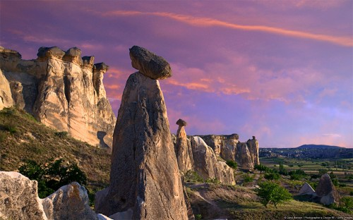 Fairy Chimneys at Dusk, Cappadocia